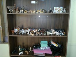 My Schliech Model Collection by Buggie1112