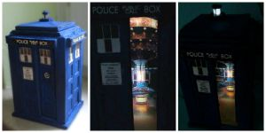 mini TARDIS by Dave2399