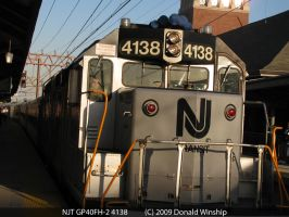 NJT GP40FH-2 4138 by The-Nightshift