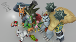 Digimon Pack 5 - Reliability And Sincerity for XPS by RPGxplay