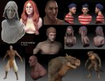 Zbrush art dump sept 2011 by Furipon