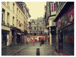 street in france by SamantaT