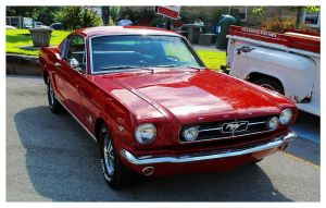 Sharp Red Mustang by TheMan268