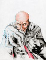 Master Xehanort Pencils by Atama-sama