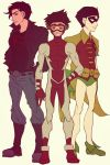 Teen Titans: Robin, Superboy and Impulse by Bill-James