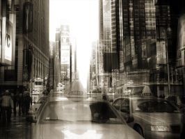 2 Cabs - NEW YORK by Marcusion