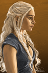 Khaleesi by Curly-Qs