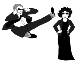 Mr and Mrs Smith by TheBritishGeek