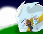 Liz crying over Batty death by HeroHeart001