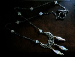 Priestess Of Avalon Necklace by EireCrescent