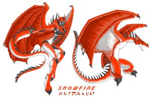 OTF Snowfire R and B Modes by Autobot-Windracer