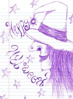 Witch Doodle by Alison-Earth-Ninja