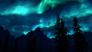 Skyrim Northern Lights 2 by RockLou