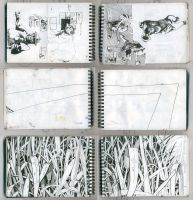 some scrap pages by gnomzdziupli