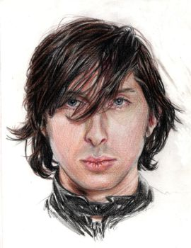 Carl.Libertines.pencil.colour by Bitterkawaii
