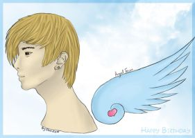 Happy Birthday Angel Teuk by Panda-Devil