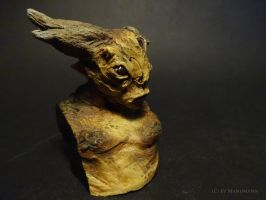Forest Creature (painted, side) by Manumann