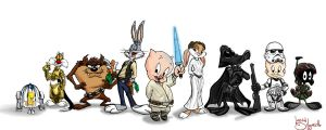 Star Wars Loony Toons? by Dizzy-O