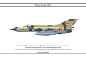 MiG-21 Egypt 3 by WS-Clave