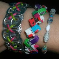 Recycled Bracelets by Starfish2o