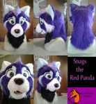 Snags the Red Panda by FenrisMau