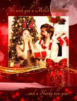 Miller and Hardy Christmas Wishes - Broadchurch by i4dezign73