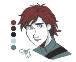 Hiccup - Color Palette Challenge by ComickerGirl
