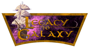 legacy to galaxy (treasure planet) logo by portadorX