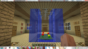Minecraft My New Home ( Living Room ) by MikaMori