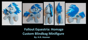 Custom Blindbag Homage of Fallout Equestria by Gryphyn-Bloodheart