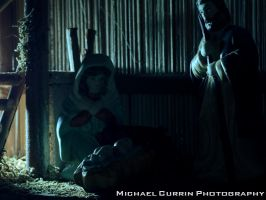 Nativity manger II by TheSoftCollision
