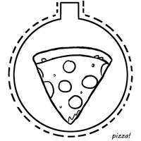 Pizza Ornament by TheBluekulele