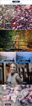 FIVE - Photoshop Actions 5 by PSActionsONLY