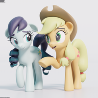 Applejack Conversion Test Render by TheRealDJTHED