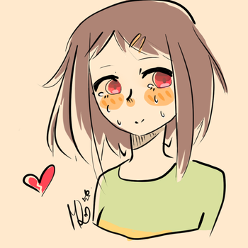Still an Innocent Child (Chara) by MangoDoodles