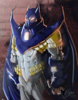 Azrael - Batman Knightfall by HellCames