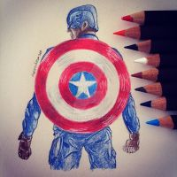 Captain America (TWS) by Sharsel