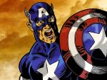 Captain America by rborgesf
