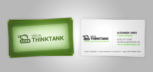 Visual Thintank Bizcards by logiqdesign
