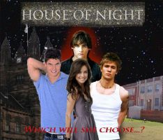 House of Night-- Choose by SelexiaOfTheHeart