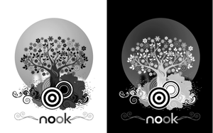 nook tree wisps, nook WP by Rasa13