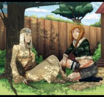 AT: Somewhere in Konoha.. by tonemi