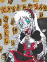 TRADITIONAL POSTER: Operator's Doll by InvaderIka