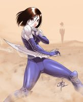 Alita - Get your ass to Mars by polarityplus