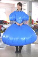 inflatable blue dress by puncturegown