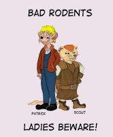 Bad Rodents by Sprybug
