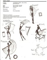Bellydance Poses B by TimeStar