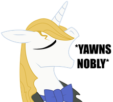 *YAWNS NOBLY* by Knadow-the-Hechidna