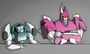 Tailgate and Cyclonus by lahteh