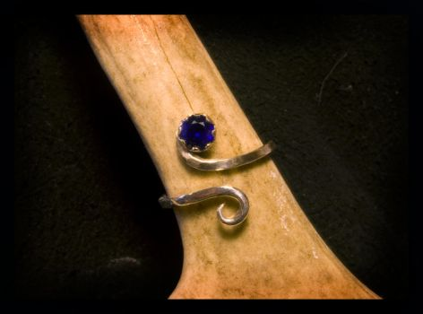 Sapphire Ring by LaughingScarab